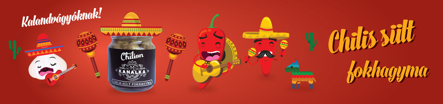 Chilis sült fokhagyma