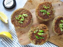 Hamburger recept Kanálka padlizsánkrémmel
